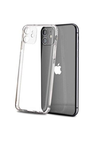 """Iphone 11 6.1""""  Uyumlu Tıpalı Kamera Korumalı Kaydırmaz Darbeye Dayanıklı Kılıf"""