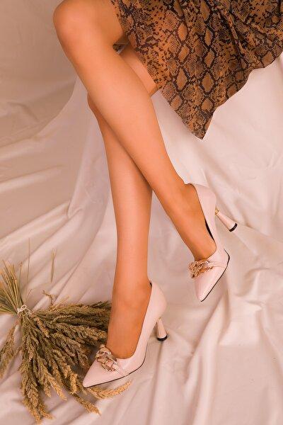 Ten Kadın Klasik Topuklu Ayakkabı 15710