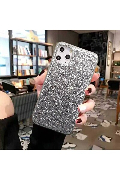 Iphone 11 Taşlı Renli Silikon Telefon Kılıfı