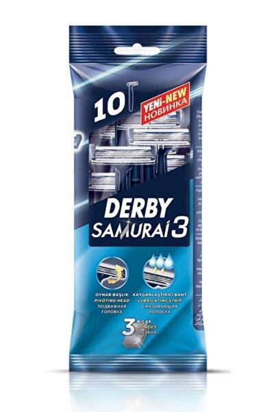 Samurai 3 Bıçaklı 10'lu Poşet