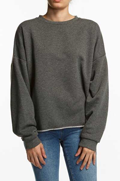 Skye Oversized Sweatshirt - Antrasit