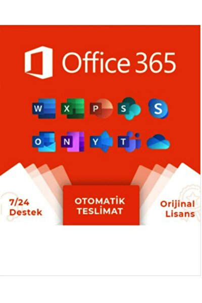 Office 365 Portal Hesabı 5 Cihaz
