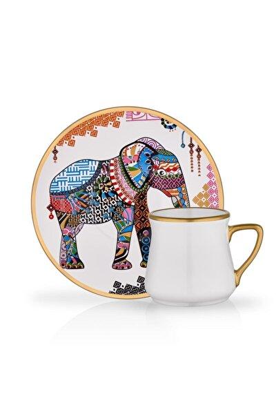 Elephant 6'lı Türk Kahve Seti