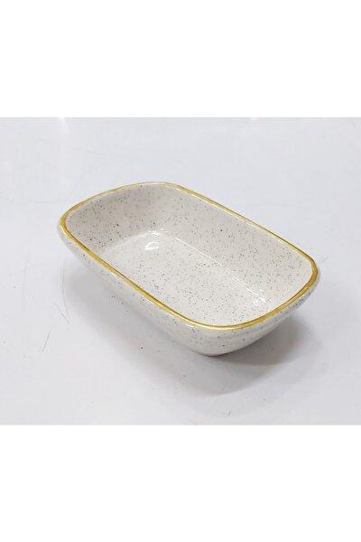 Porselen Kahvaltı Meze Tabağı Küçük Boy 11*7cm