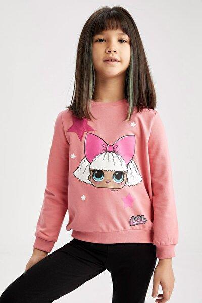Kız Çocuk L.o.l Lisanslı Sweatshirt
