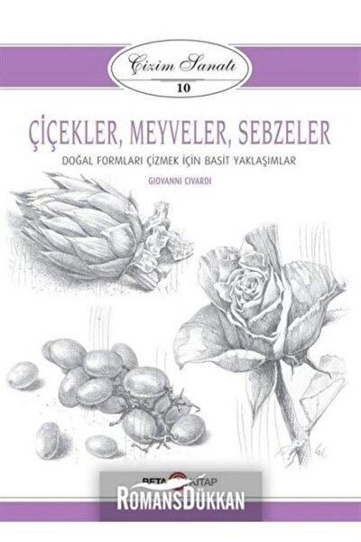 Çiçekler-meyveler-sebzeler: Çizim Sanatı-10