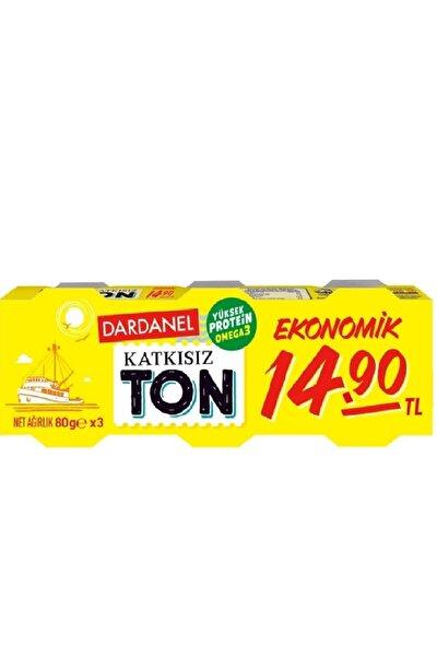 Ton Balığı Ekonomik 80 Gr 3'lü 1 Paket