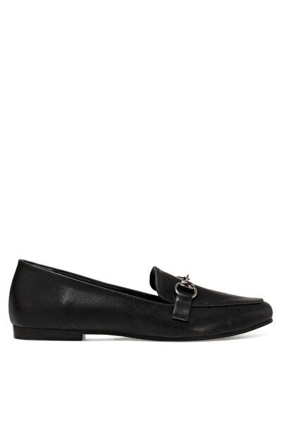 MELA Siyah Kadın Loafer Ayakkabı 101025937