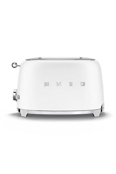 Mat Beyaz Retro 2x1 Ekmek Kızartma Makinesi