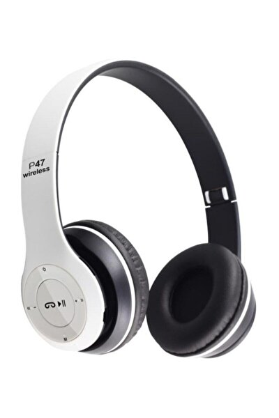 Bluetooth P47 Kablosuz Kafaüstü Kulaklık