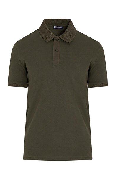 Haki Polo Yaka Tişört