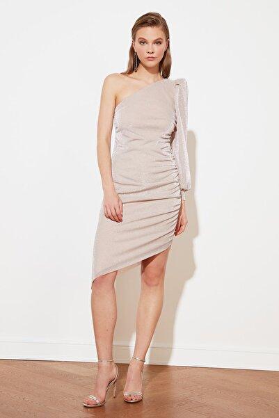 Pudra Işıltılı Elbise TPRSS20EL0289