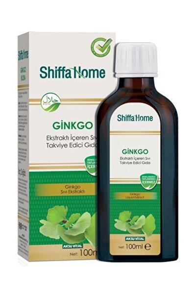 Ginkgo Ekstraktı İçeren Sıvı Takviye Edici Gıda 100 ml