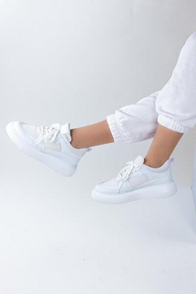 Parker Kadın Dolgu Topuklu Spor Ayakkabı Sneaker