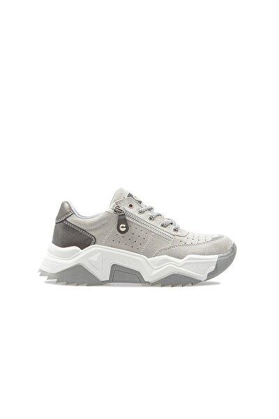 Kadın Gri Spor Ayakkabı Pc-30698