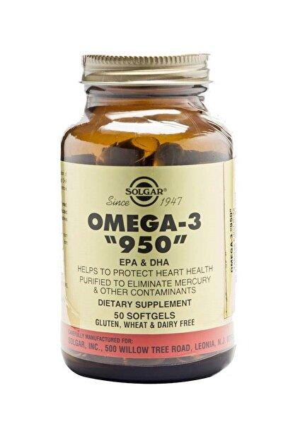 Omega-3 950 Mg 50 Kapsül