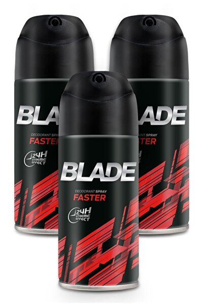 Faster Erkek Deodorant 3x150ml