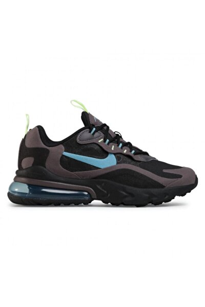 Air Max 270 React Bq0103 012 Black/cerulean/thunder Grey