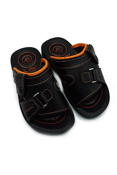 Unisex Çocuk Siyah Terlik Sandalet