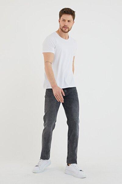 Erkek Slim Fit Klasik Kot Pantolon
