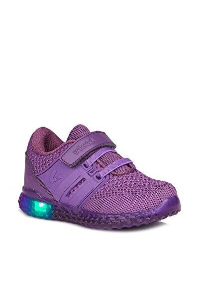 Flash Kız Çocuk Mor Spor Ayakkabı