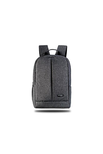 BP-Z204 Zaino Serisi 15,6 inç Uyumlu Su Geçirmez, Laptop Notebook Sırt Çantası-Gri