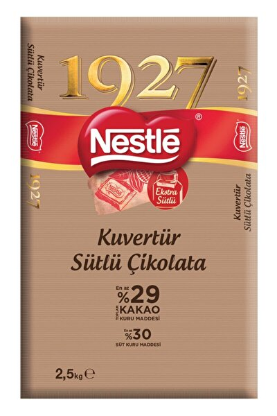 1927 Sütlü Kuvertür Çikolata 2.5 Kg