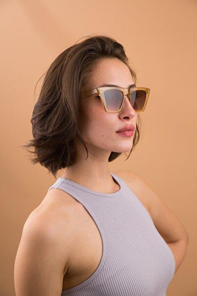 Kadın Nude Rengi Legend Güneş Gözlüğü