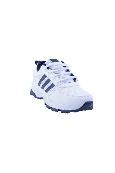 Unisex Beyaz Maraton Suya Dayanıklı Ayakkabı