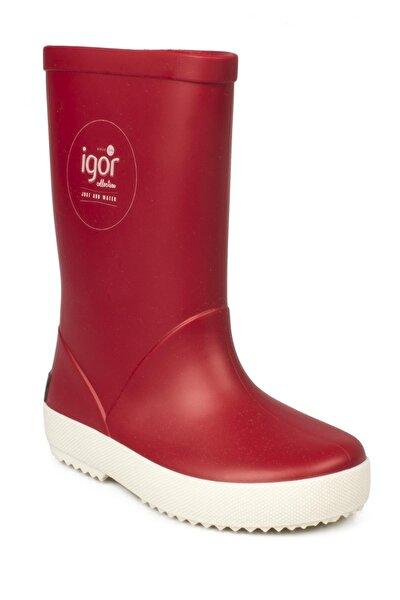 SPLASH NAUTICO Kırmızı Unisex Çocuk Yağmur Çizmesi 100317971