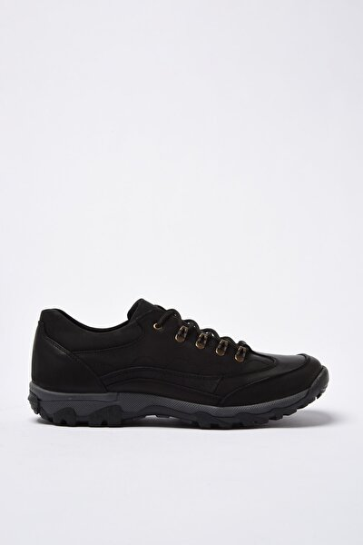 Hakiki Deri Siyah Kadın Sneaker 02AYH200990A100