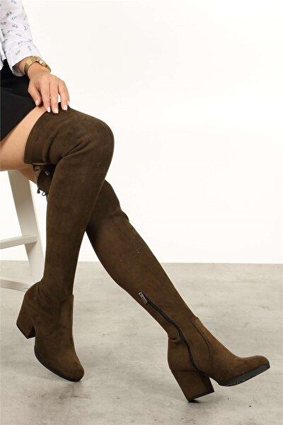 Aida Haki 7 cm Dizüstü Çizme