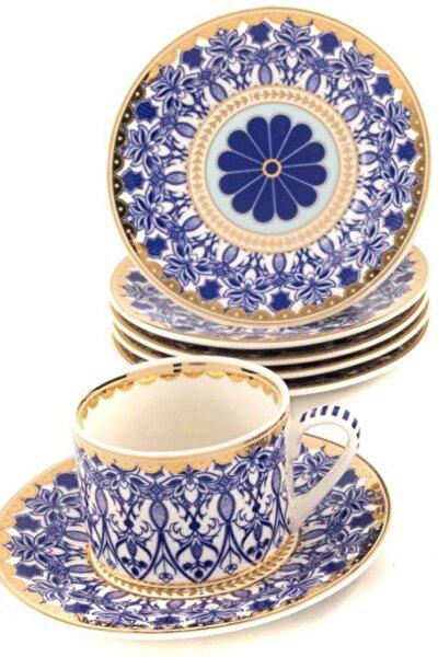 Blue Dream 6lı Kahve Fincan Takımı Seti