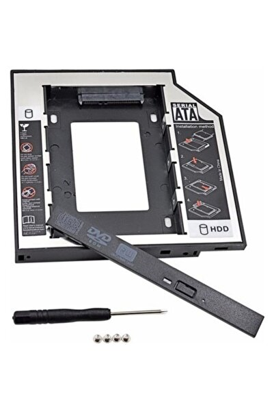 9.5mm Hdd Caddy Kızak Notebook Laptop Dvd To Ssd Kutu Sata 4717p