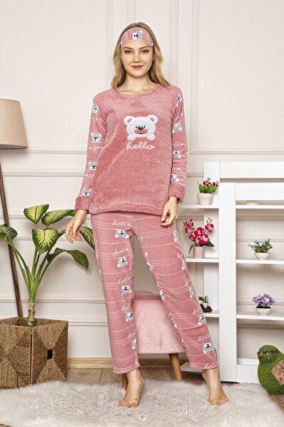 Kadın Pembe Welsoft Pijama Takım