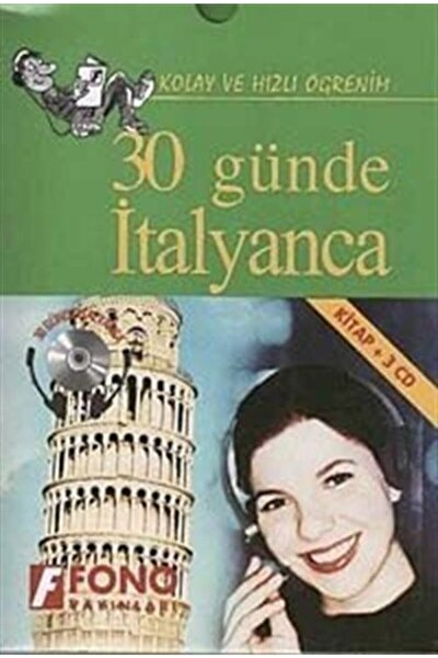 30 Günde Italyanca (kitap+3 Cd)