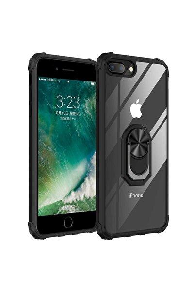 Apple Iphone 7 Plus Standlı Yüzüklü Kapak