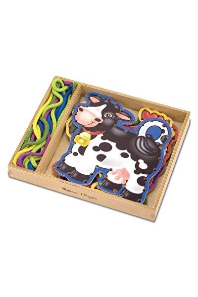 Melissa&doug Ahşap Ip Geçirme - Çiftlik Hayvanları