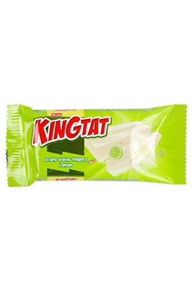King Tat Limon Kaplamalı Gofret 30 gr  24 Adet (1 Kutu)