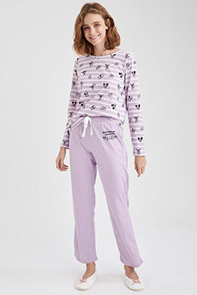 Mickey Mouse Lisanslı Pijama Takımı