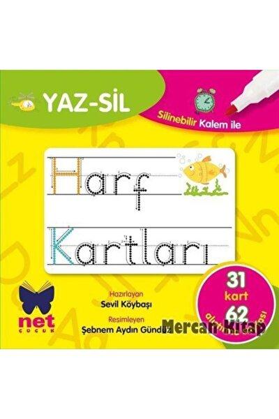 Yaz-sil Harf Kartları