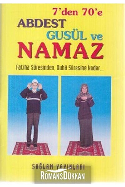 7'den 7'e Abdest Gusül Ve Namaz (kod: 012)