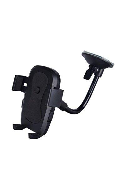 Araç Içi Vakumlu Üniversal Telefon Navigasyon Tutucu Siyah