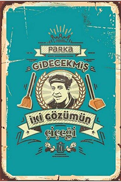 Retro Ahşap Poster
