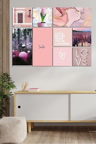 Modern Style 9 Parçalı Mdf Tablo Glo006