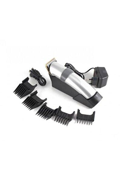 Standlı Profesyonel Saç Sakal Kesme Tıraş Traş Makinesi Seti