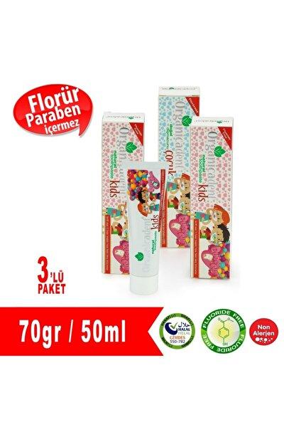 Florürsüz Çocuk Diş Macunu 3'lü Paket