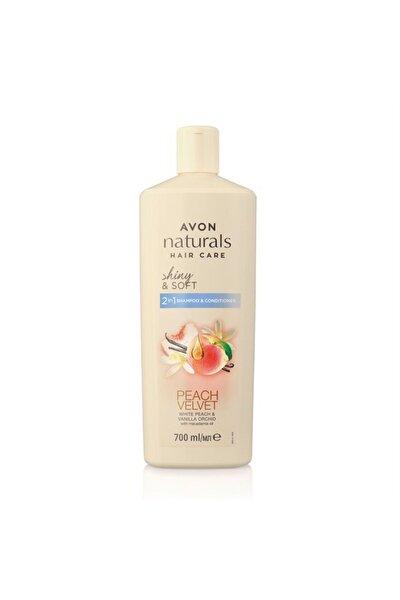 Naturals Hair Care Shiny&soft Beyaz Şeftali Ve Vanilya Kokulu Şampuan Ve Saç Kremi 700 Ml