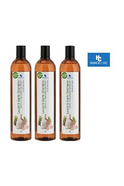 Hunca Defne Ve Sarımsak Özlü Şampuan 700 Ml X3 Adet