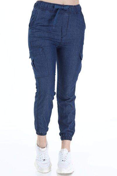 Kadın Genova Pantolon Mavi